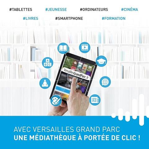Médiathèque numérique VGP